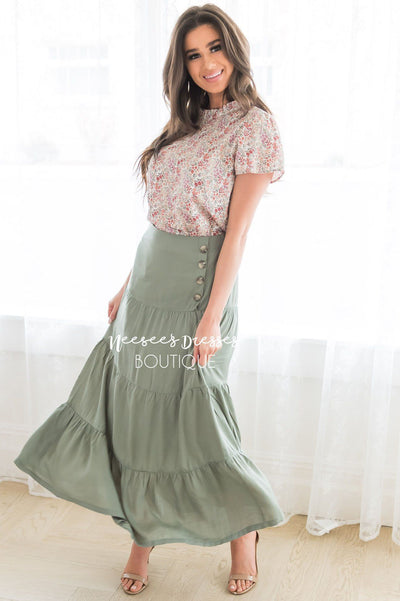 Just A Moment Modest Skirt Modest Dresses vendor-unknown