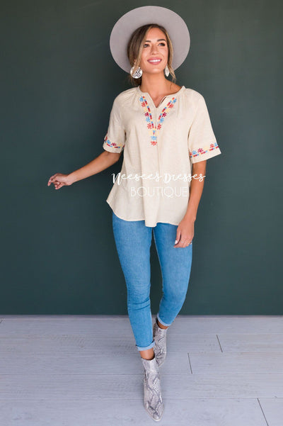 Second Chances Modest Blouse Tops vendor-unknown
