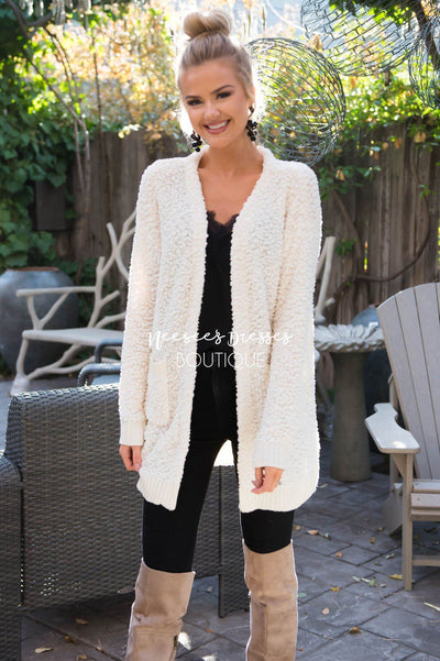 Snow Globe Cardigan Sweater Tops vendor-unknown