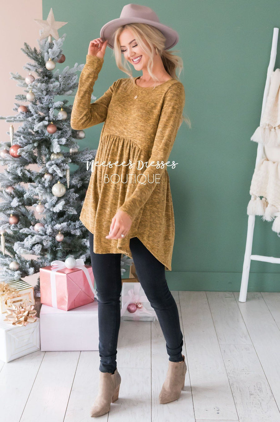Soft Babydoll Sweater