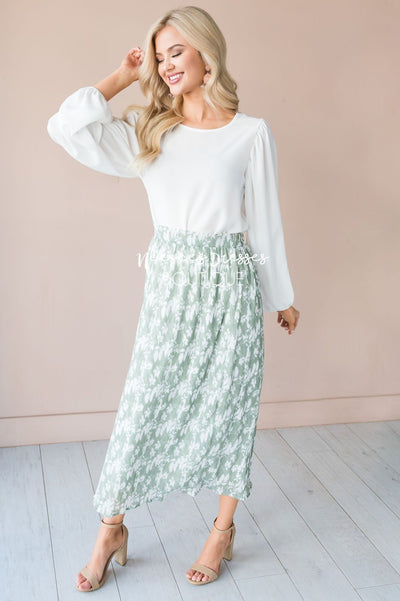 Spring is All Around Modest Skirt Modest Dresses vendor-unknown