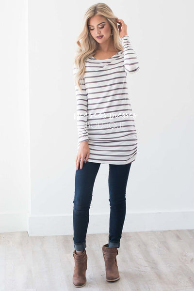 That Fall Feeling Striped Top Tops vendor-unknown