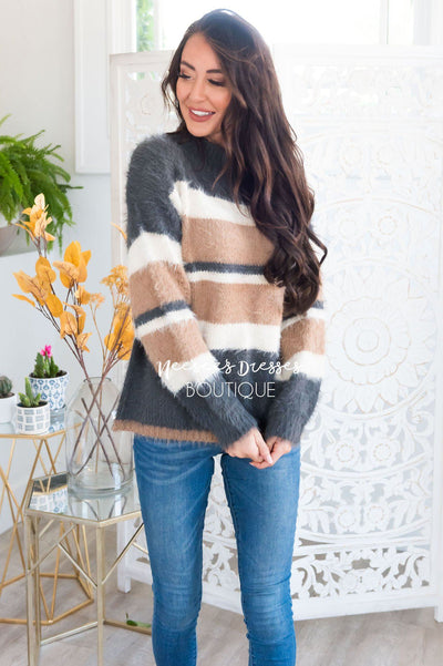 Cozy Campfire Modest Sweater Modest Dresses vendor-unknown