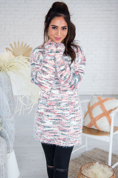 Sweet As Candy Sweater Modest Dresses vendor-unknown