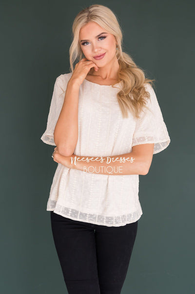 Trustworthy Sheer Blouse Tops vendor-unknown