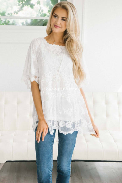 Dreaming in Lace Blouse