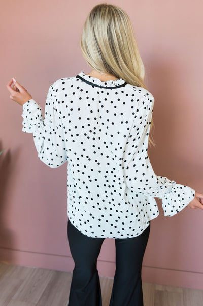You Complete Me Modest Blouse Tops vendor-unknown