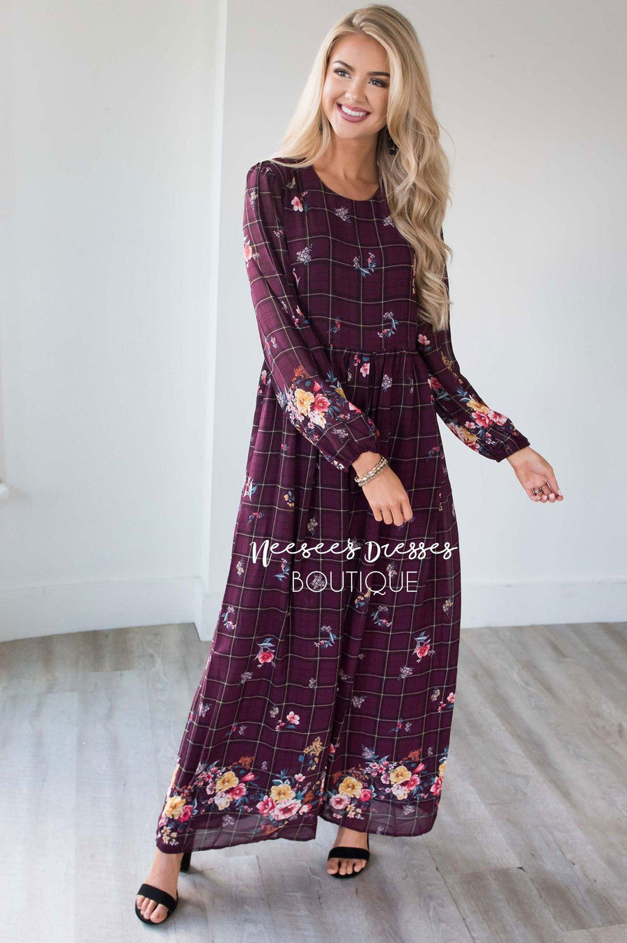 The Mel Maxi Dress Modest Dresses vendor-unknown