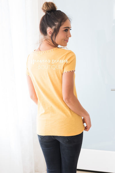 The You Dot It Modest Tee Tops vendor-unknown