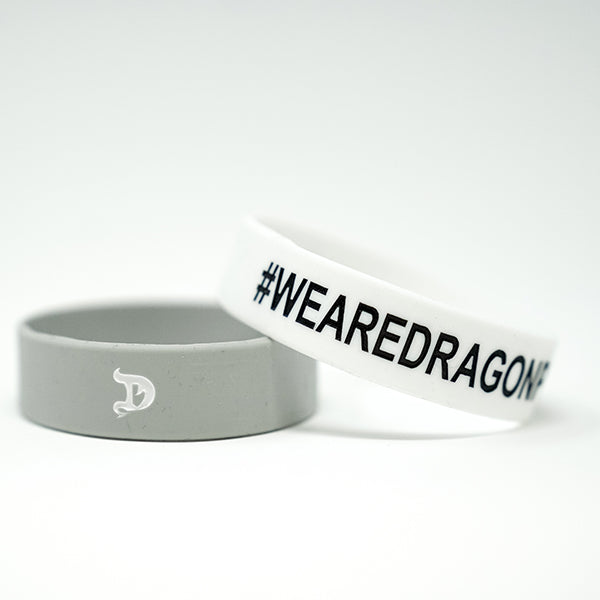 Grey/White Dragon Pharma Wristband