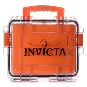 Maleta Invicta Laranja - P/3 Relogios (slots, Caixa, Tank), [product_collections] - shopping invicta