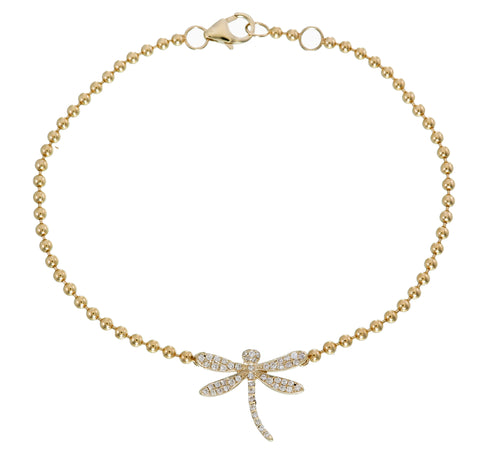DIAMOND DRAGONFLY BRACELET