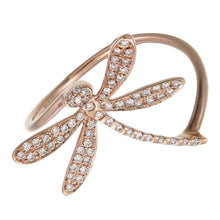 DIAMOND DRAGONFLY RING