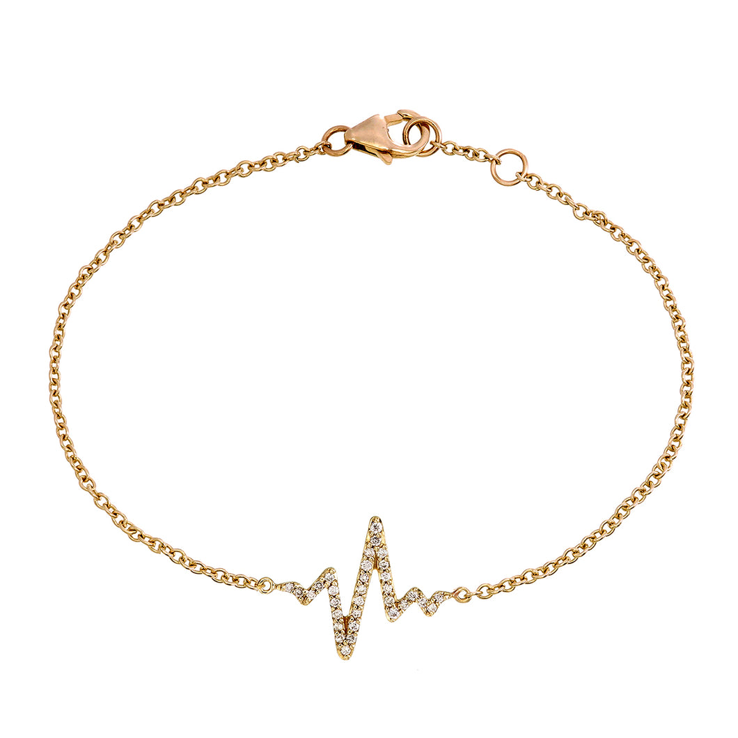 DIAMOND HEARTBEAT BRACELET