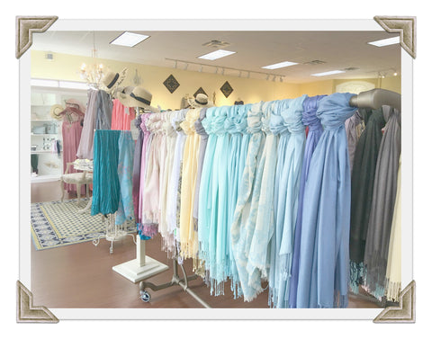 The Hope Chest boutique and more Pashminas