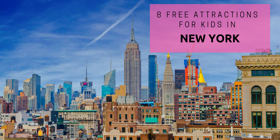 8 Free Attractions for Kids in New York