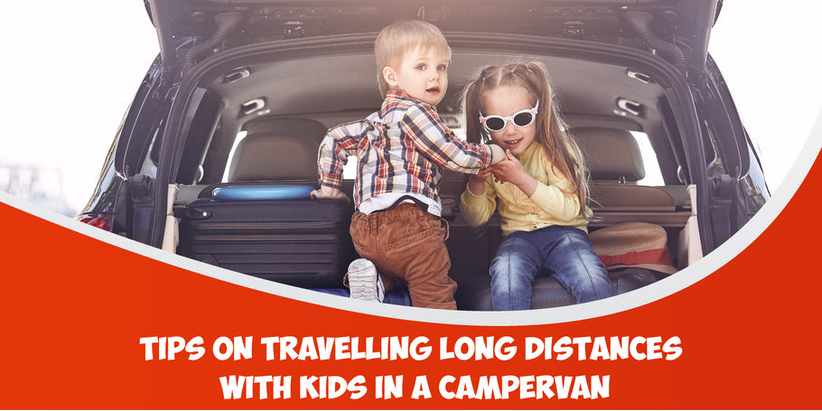 5 Tips on travelling long distances with kids in a campervan