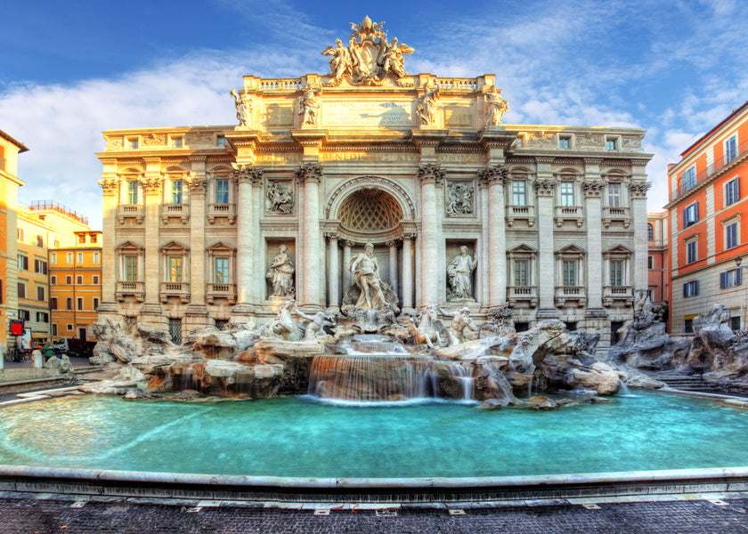 Can you count the Squares and Fountains? A daily trip in Rome