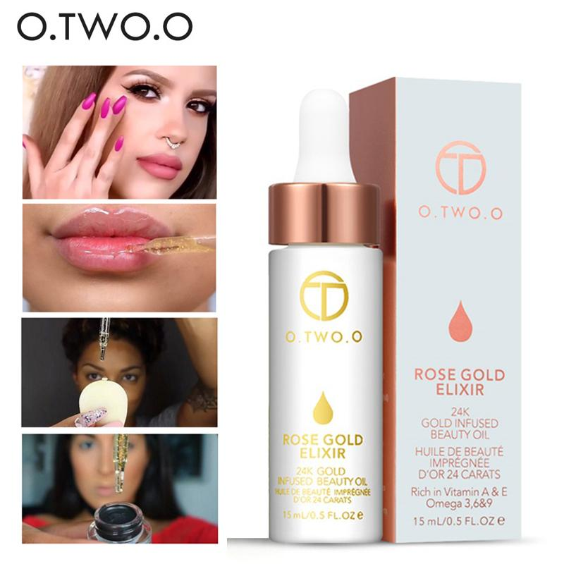 O.TWO.O Brand Beauty Easy to Wear Face Brightener Primer Oil Moisturizer Nutritious Long Lasting Base Primer Makeup
