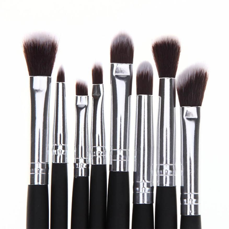 Hot New 8pcs Makeup Cosmetic Brushes Set Eye Shadow Brush Blending Beginner Foundation Cosmetic Tools Drop Shipping