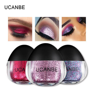 Ucanbe Brand Makeup Set 11 Colors Body Glitter Paste Shimmer Powder Diamond Gel Eye Shadow Shiny Highlight Face Hair Make Up