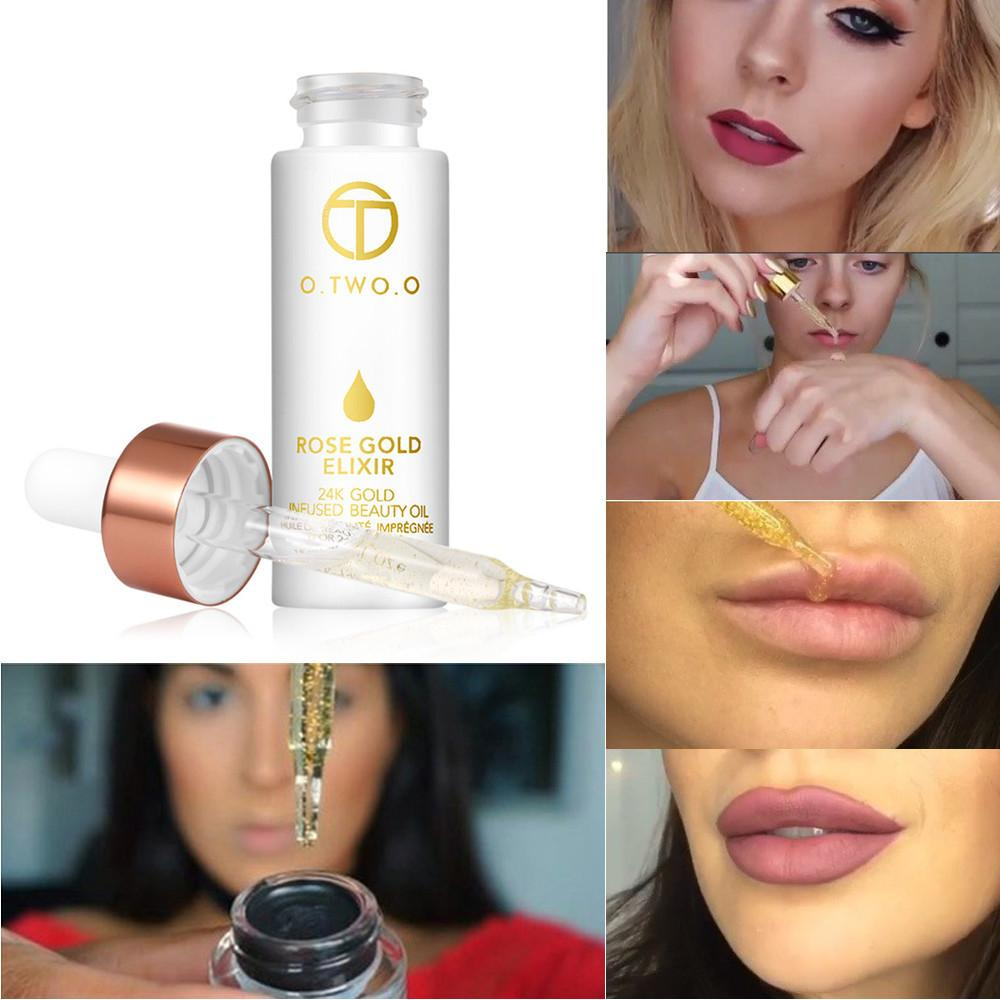 O.TWO.O Rose Gold Skin Make Up Essential Oil Moisturizing Face Oil For All Skin