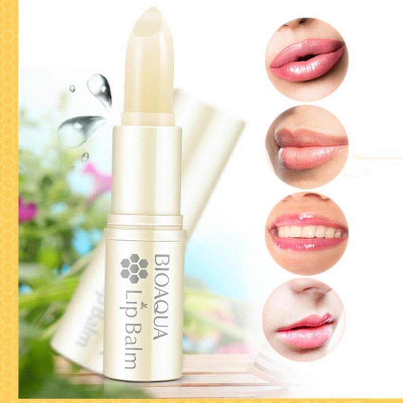 1PC Moisture Melt Lip Balm Long-Lasting lipstick Aloe Nonstick Cup Balm Anti Aging Makeup Lip Care Beauty HB88