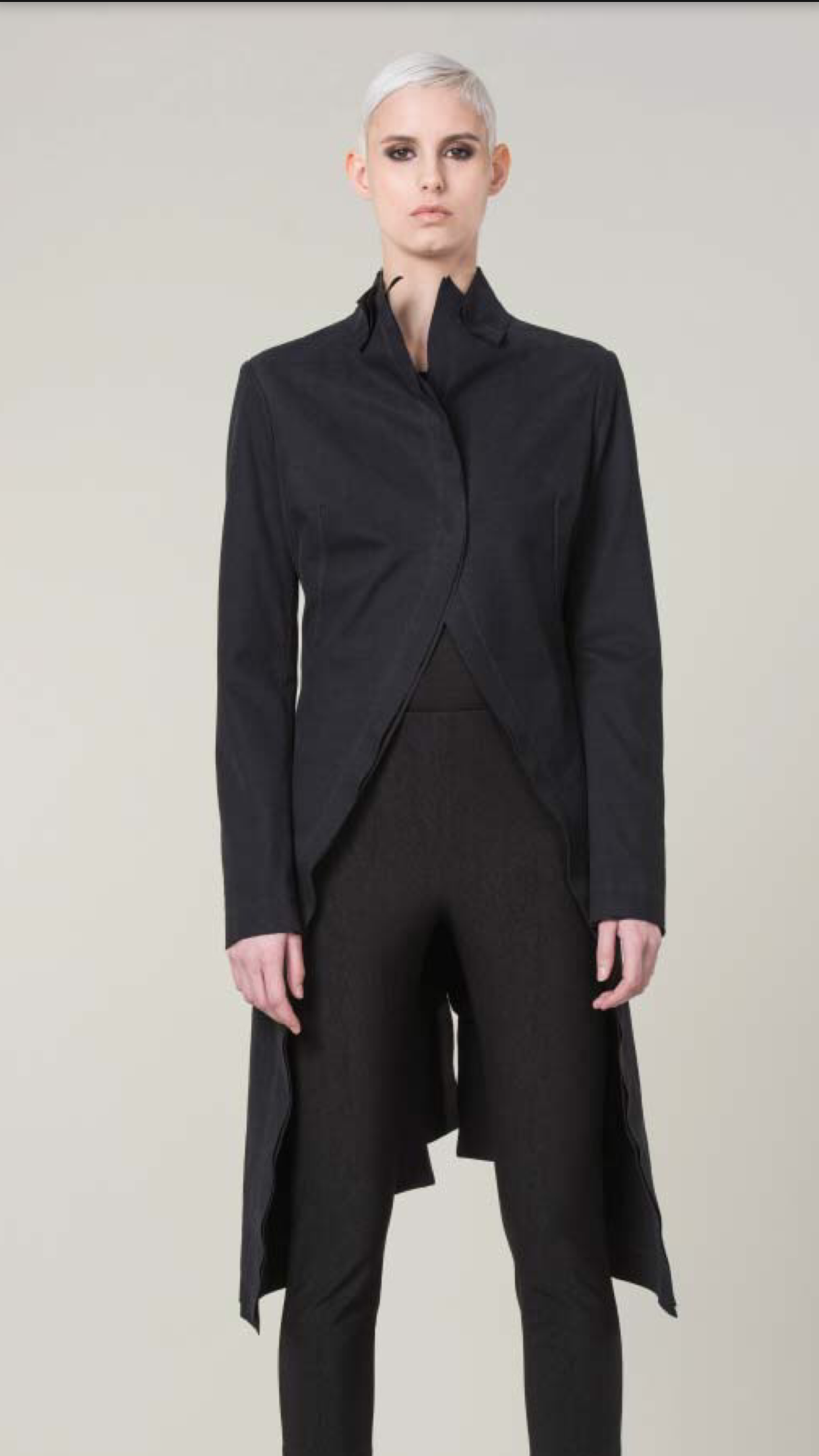 Anett Roestel Cutaway Style Coat and Pants