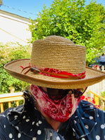 Load image into Gallery viewer, Cha Cha House - Huck Finn Straw Hat