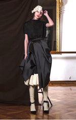 Load image into Gallery viewer, Filippo Grandulli Satin Cotton Skirt