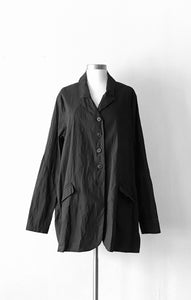 Rundholz Long Black Jacket