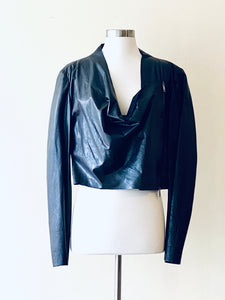 Anett Roestel Berlin Leather Jacket