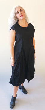 Load image into Gallery viewer, Rundholz Black Bubble Dress