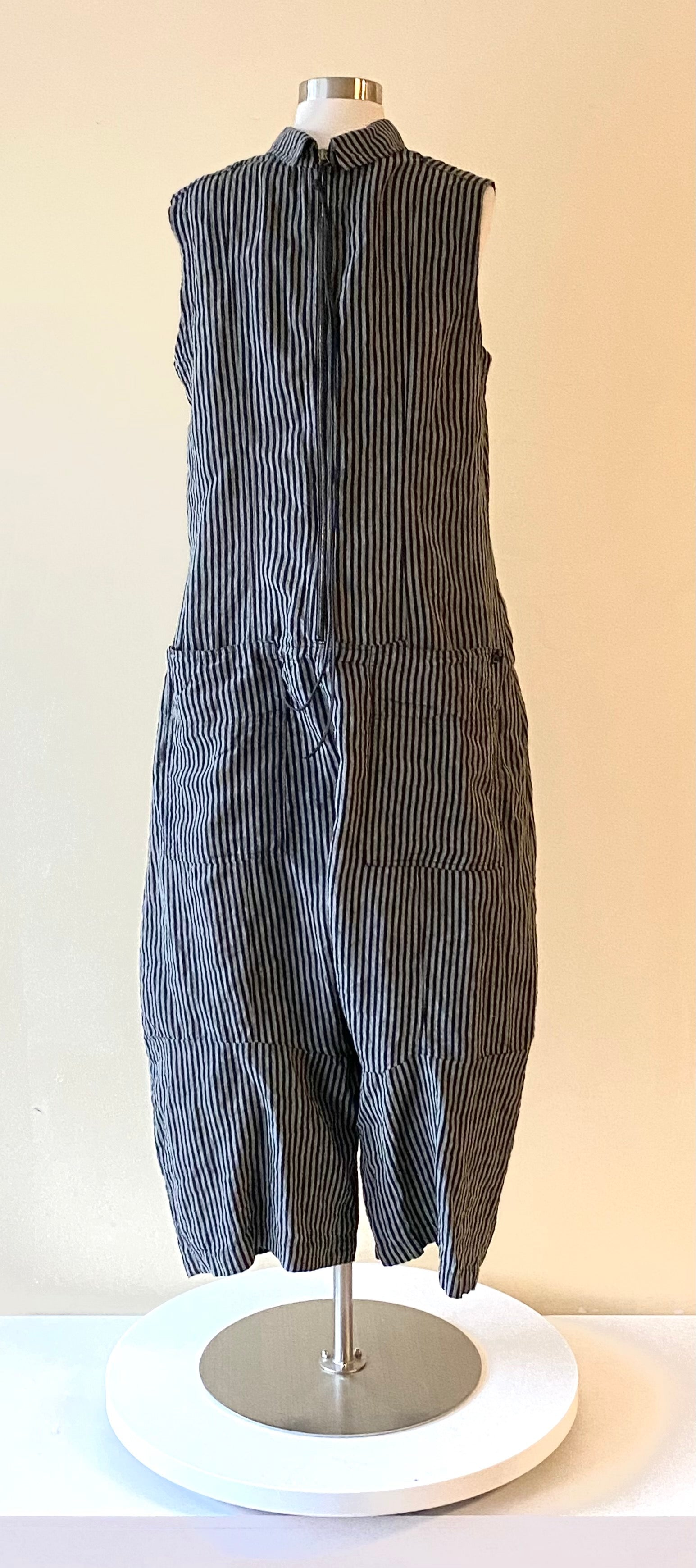 Rundholz Stripe Linen Cotton Jumper