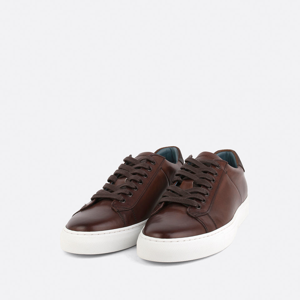 Old-England Brown Sneakers