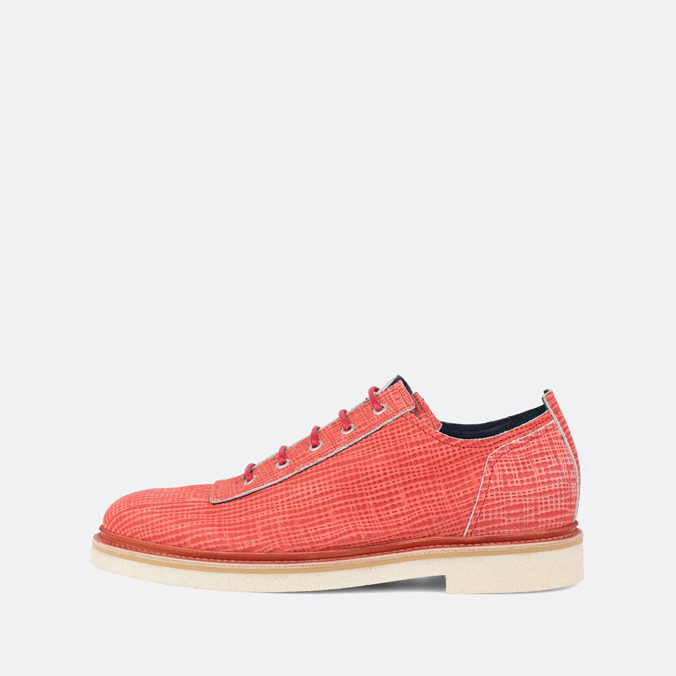 Salmon Printed Derbies