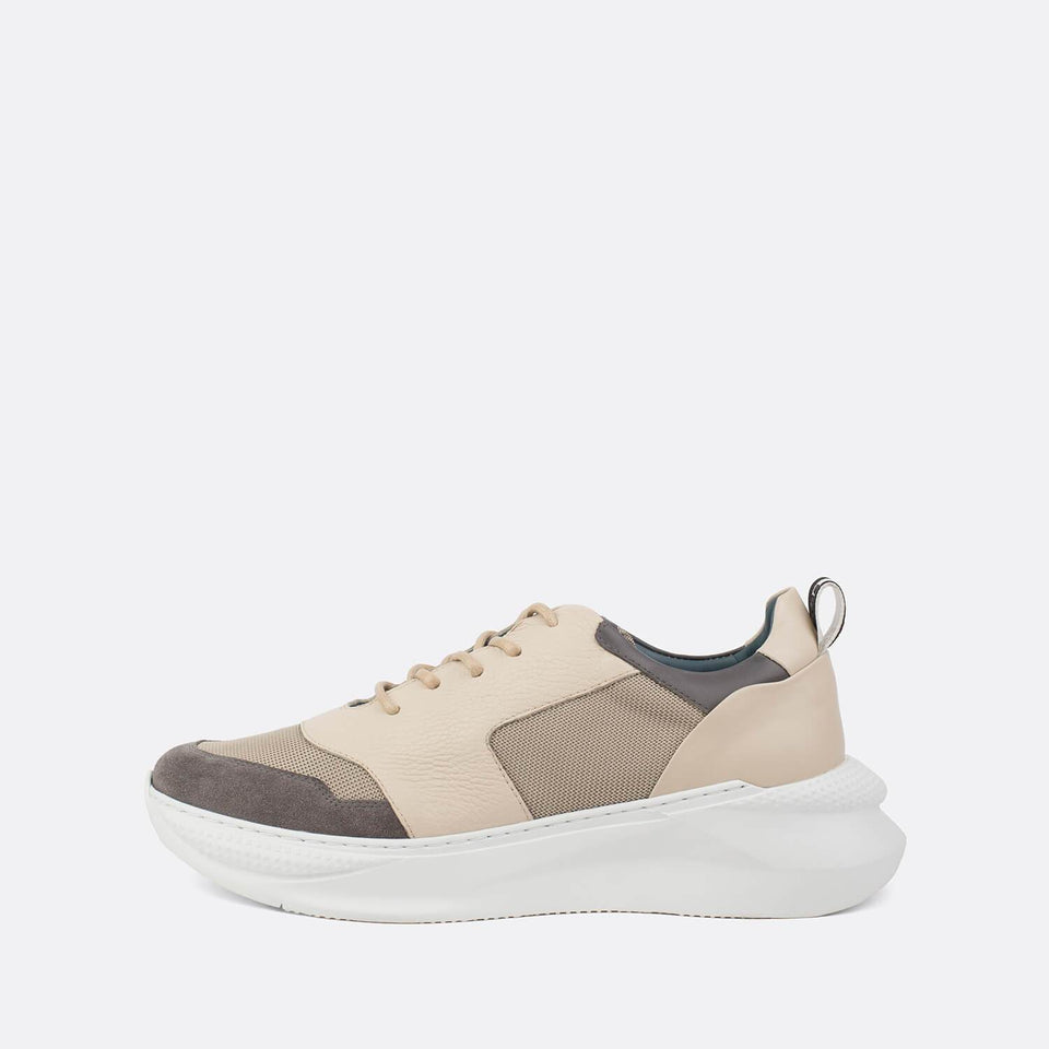 Neutral Grain Sneakers