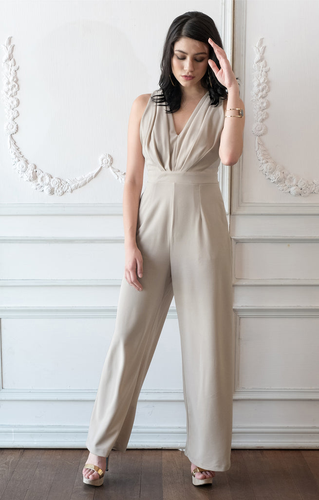 Sleeveless Jumpsuit Pocket Cocktail Women Romper