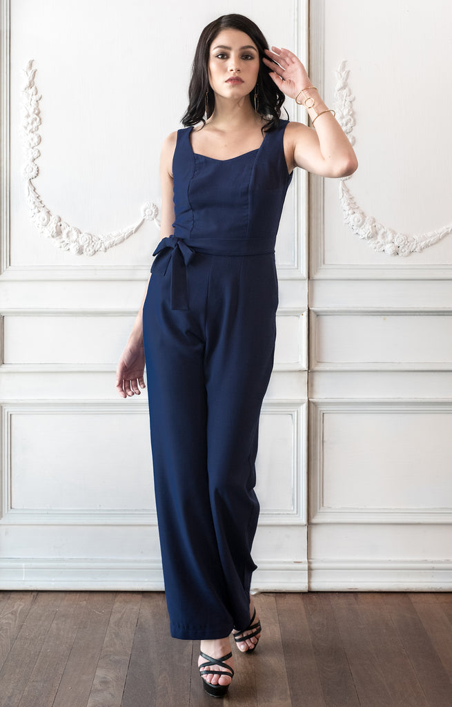 Jumpsuit Pockets Romper Dressy Wedding Guest Party