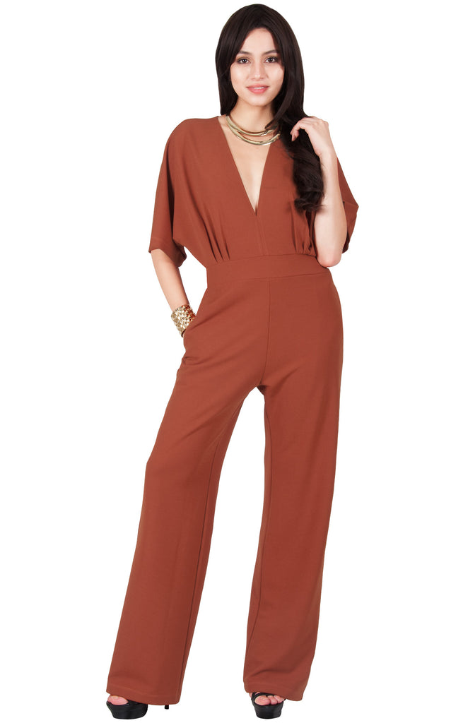 Dressy Jumpsuit Romper Formal Evening Cocktail Chic