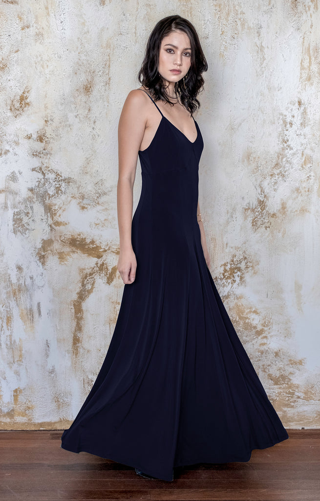 Bridesmaid Maxi Dress Wedding Guest Sleeveless Long
