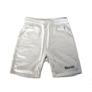 Unruly Sweat Shorts - Grey