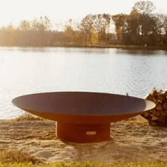 """Asia 60"""" Fire Pit by Fire Pit Art"""