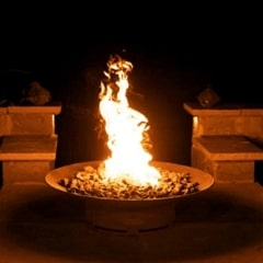 "Asia 36"" Fire Pit by Fire Pit Art with Fire"