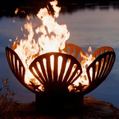 "Barefoot Beach 42"" Fire Pit by Fire Pit Art with Fire"