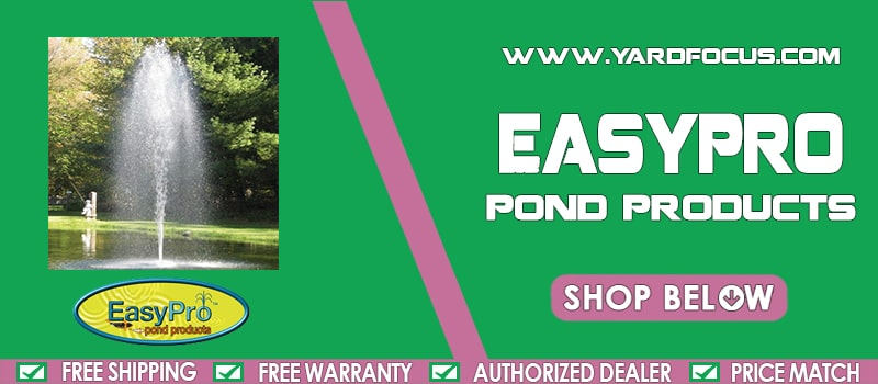Easypro Pond Products Banner