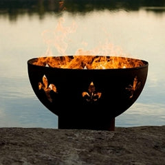 Fire Surfer Stainless Steel Fire Pit by Fire Pit Art with Fire