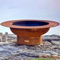 Magnum Steel Fire Pit by Fire Pit Art