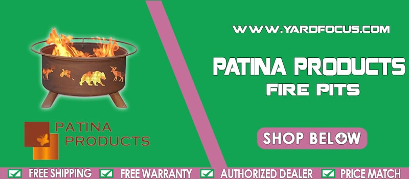 Patina Products Firepits Banner