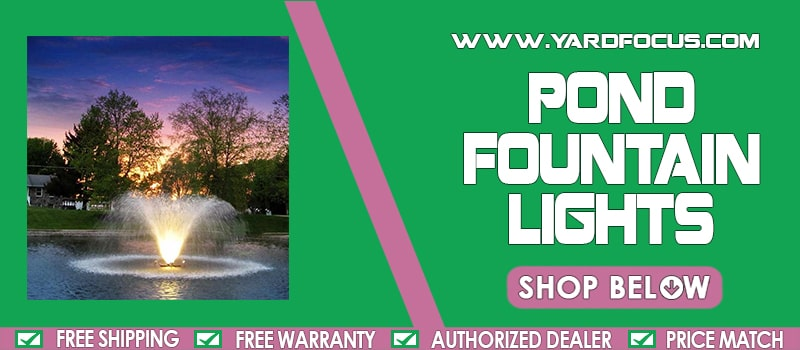 Pond Fountains Lights